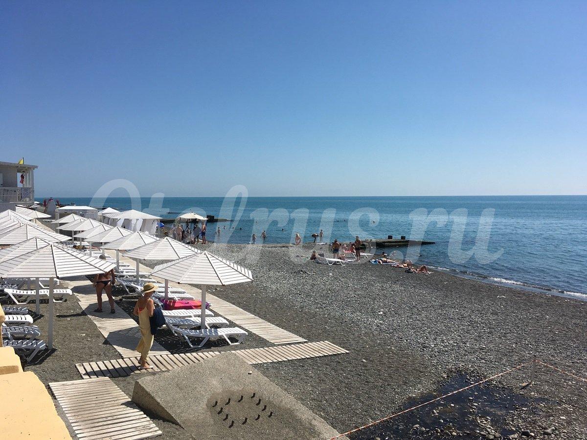 Пляжи адлера фото отзывы 2018