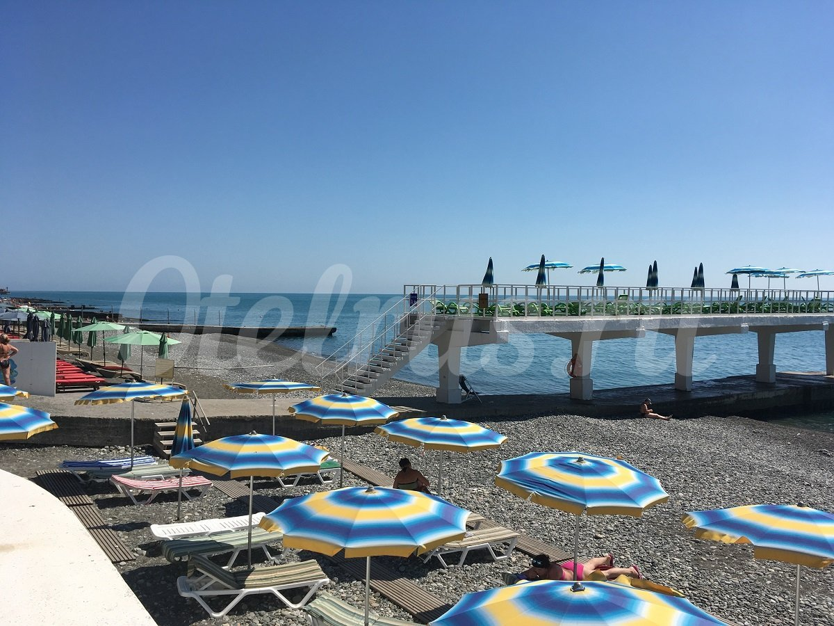 Южное взморье санаторий фото пляжа и