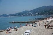Пляжи Курортного городка Адлер