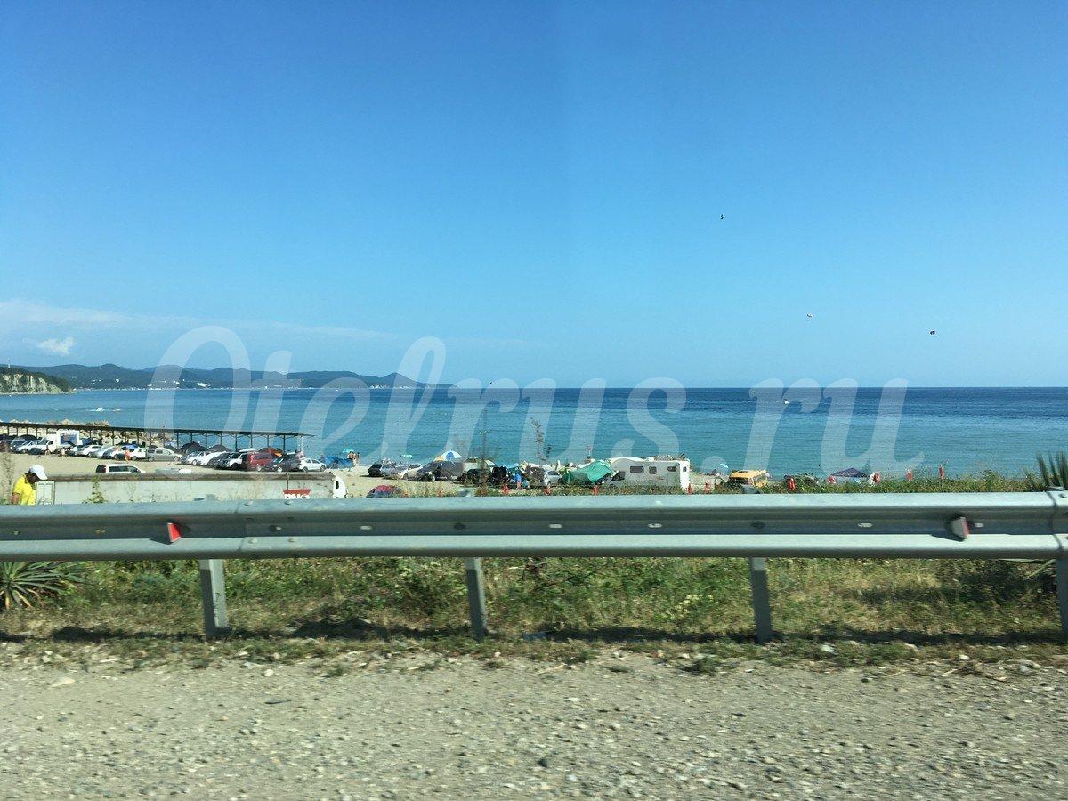 Набережная лермонтово 2018 фото пляжа