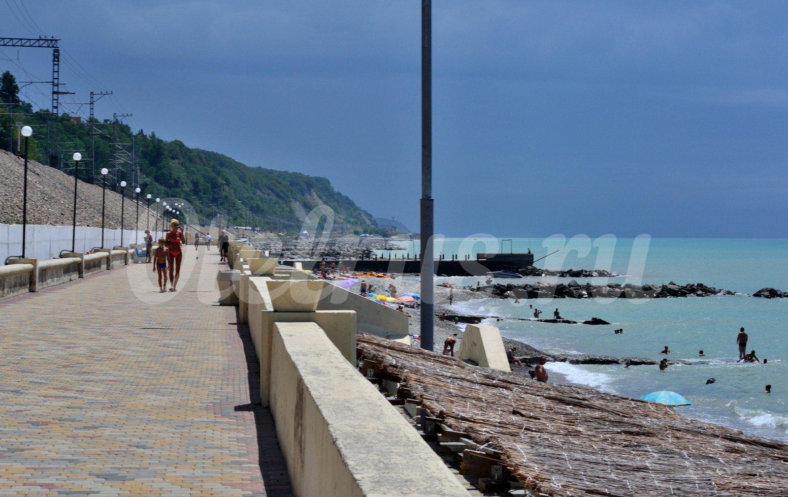 Пляжи города туапсе фото